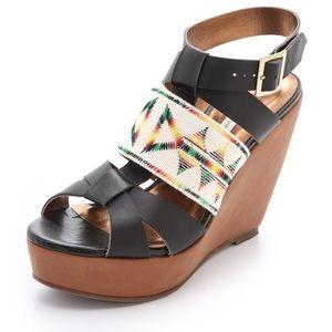 Price Drop ⬇️ Cynthia Vincent Lakota Wedge Sandals